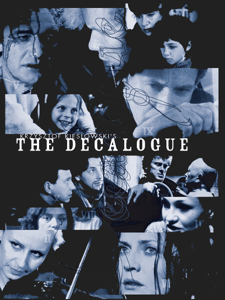 decalogue collage